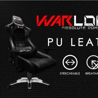 Original Warlord Templar Premium Gaming Chair (Black)