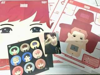 NCT HAECHAN PAPER TOY