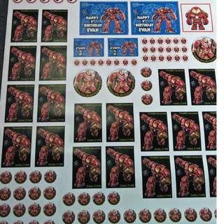 Birthday Set Sticker_Customize