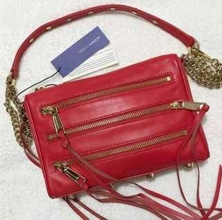 ❗️PROMO Rebecca Minkoff Mini 5 Zip Crossbody