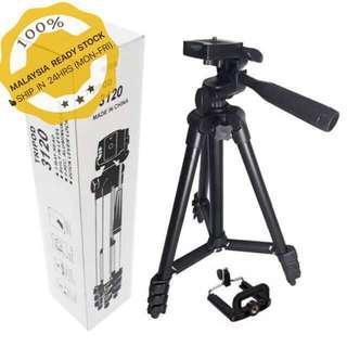 Tripod (black edition) TF3120 aluminum alloy smartphone/dslr/camera/video cam