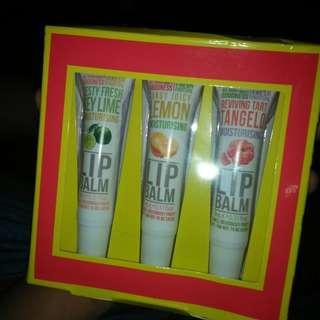 Fruit lip balm