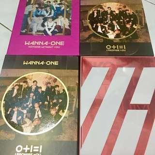WANNAONE AND IKON OFFICIAL ALBUM