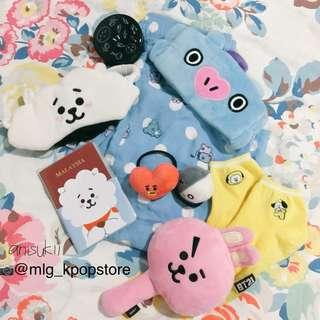 Official BT21 Travelling Essentials