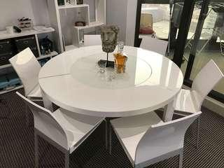 Beyond Furniture Dining Table With 6 Chairs