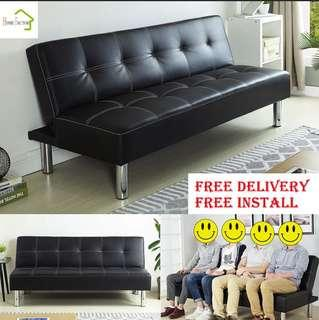 Bn Leather Sofa Bed Bo1