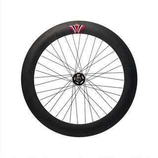 [INSTOCK]70mm Black Rear Wheel Fixed