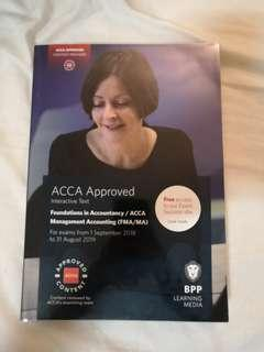 Latest version. Acca Management Accounting (FMA/MA) F2
