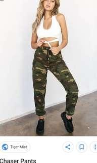 Tigermist Khaki/Army Jogger Pants, The Chaser Pants