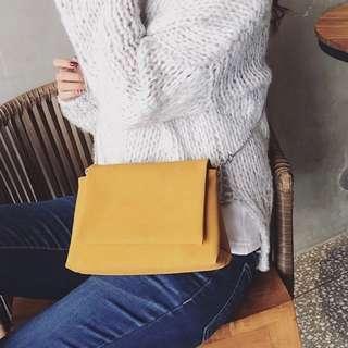 🚚 BN Minimalist Yellow Sling Bag (September Promotion!)