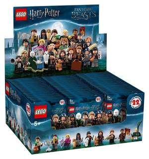 Leeogel Lego 71022 Minifigures Harry Potter and Fantastic Beasts Box of 60 - New In Sealed Box