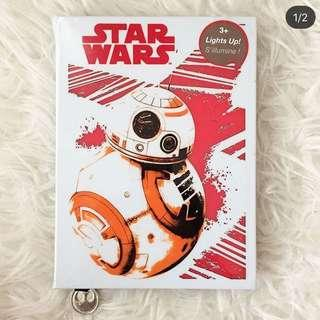 Starwars lightup journal!