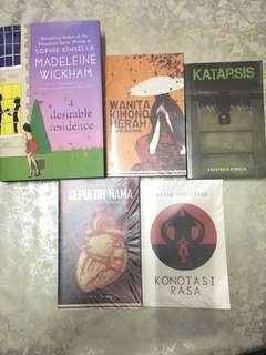 Malay Novels + Sophie Kinsella - A desirable residence