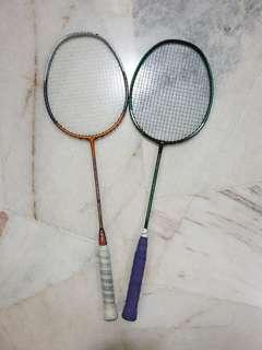 Badminton Racket,Armortec 800 & Isometric Power 200