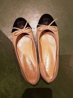 Fast Deal🔥Chanel inspired classic leather flats (Size 36)