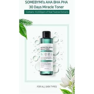 FREE SHIPPING AUTHENTIC Some By Mi miracle toner