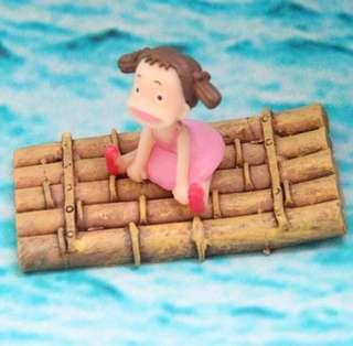 ☘️Terrarium Accessories / Miniature / scrapbooking, gardening deco, photo frame deco, home deco, figurine etc - Raft w girl / Raft / Frog sets