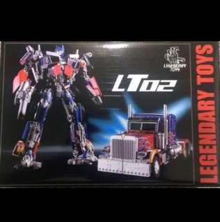 Transformers Legendary Toys - LT02 Optimus Prime LT-02 (MISB)