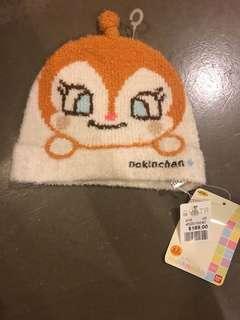 ⭐️New⭐️ Anpanman 細菌妹妹帽子 (有彈性) 0-12 months