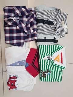Boys Clothes x 4 pcs