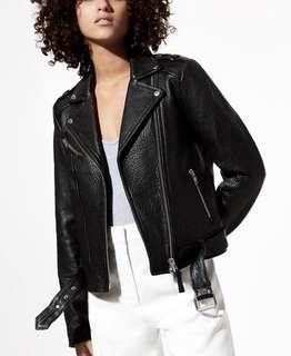 Aritzia Mackage Rumer Leather Jacket XXS