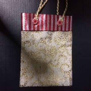 New cloth Embroidered Carrier Gift Bag