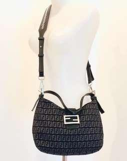 Fendi shoulder bag with DB ori and fun sling strap