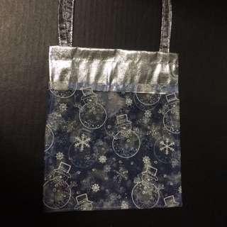 New Christmas Theme Carrier Gift Bag