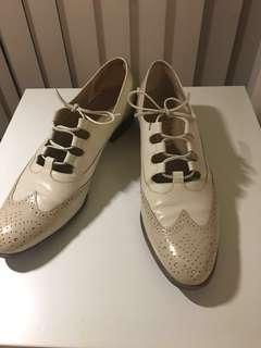 Salvatore Ferragamo two-toned oxford