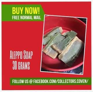 🚚 Aleppo Soap (30grams)