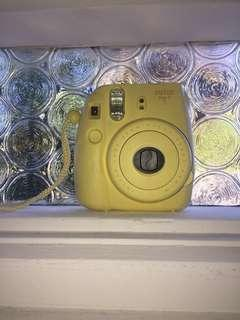 Yellow Instax mini 8