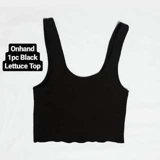 Lettuce Top Black