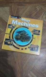 Focus On: Mega Machines (Kid Book)