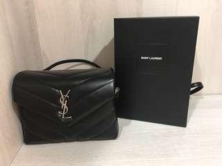 YSL Toy Loulou leather shoulder bag 小方包 手提包