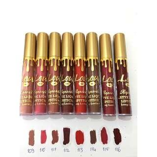 115 Rapsodi Matte Liquid Lipstick