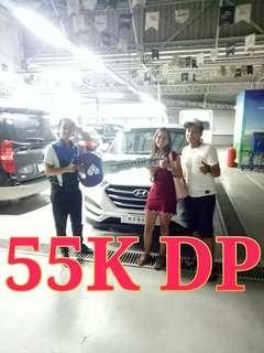 Hyundai Tucson 55K Down Promo!