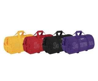 Supreme FW Duffle Bag