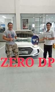 Hyundai Elantra Zero Down Promo!