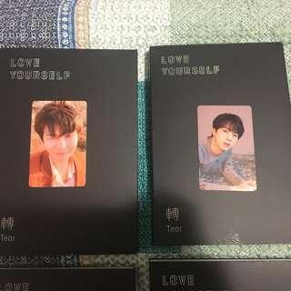 WTT: BTS Love Yourself 'Tear' Photocards