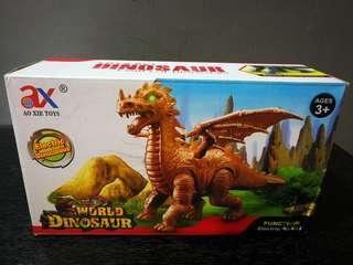 Electronic Dinosaur with Walking Sound