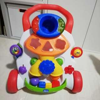 Chicco baby activity walker n free gift