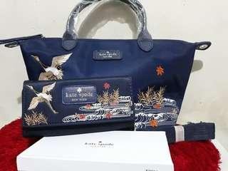 Kate Spade Sling Bag + Wallet