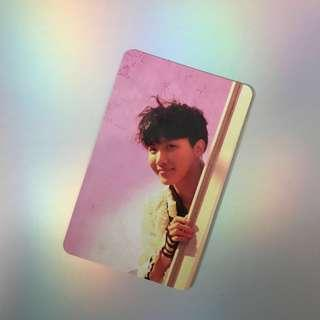 [WTT] BTS Jhope Love Yourself:Answer 'E' Version Photocard