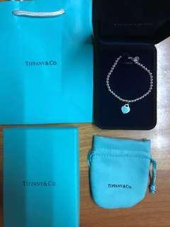 Tiffany 手鏈頸鏈手鐲耳環 M/L size 全新 名牌手鍊手鏈首飾 女朋友禮物