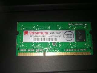 Laptop Ddr3 Ram 4gb 1600Mhz