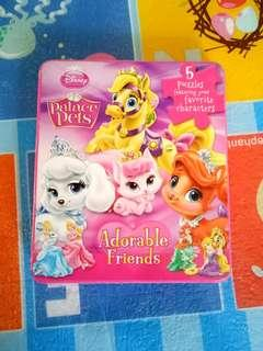 (BNEW) Disney Palace Pets Book with Puzzle