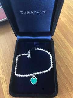 Tiffany& Co 手鏈頸鏈手鐲耳環 M /L size 全新手鍊首飾 女朋友禮物🎁