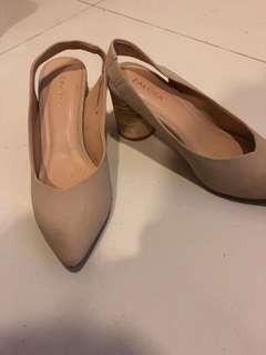 Zalora Nude Shoes