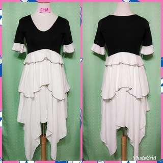 Maxi layered dress