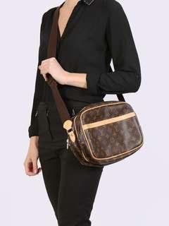 Authentic Vintage Louis Vuitton Reporter Shoulder or Crossbody Bag